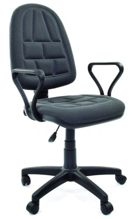 Кресло офисное CHAIRMAN PRESTIGE ERGO Престиж Эрго ткань серая