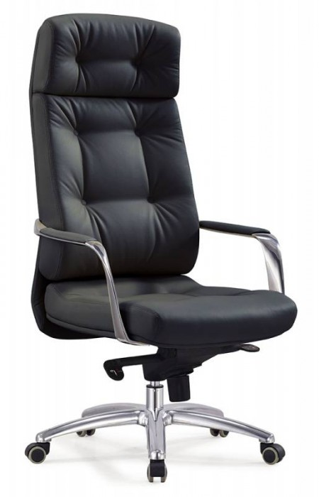 Кресло руководителя DAO ДАО черная кожа