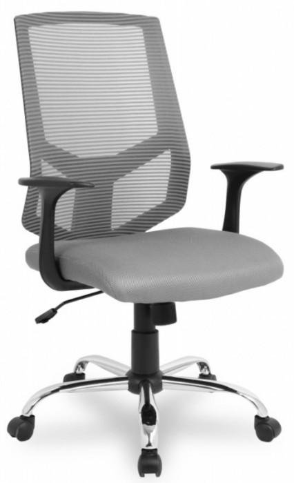 Кресло офисное College HLC-1500 сетка серая