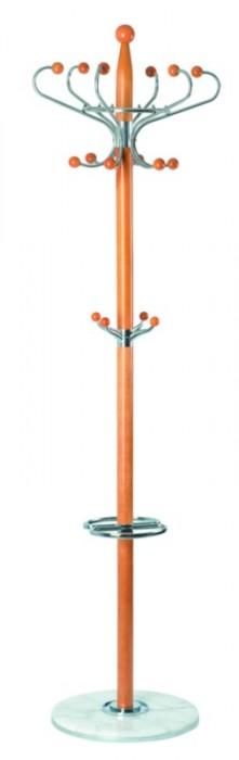 Вешалка напольная XY-018, 178см D-38 бук, белый