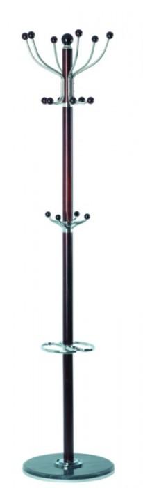 TetChair Вешалка напольная XY-029 180см D-38 орех, черный