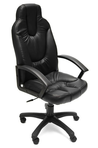 Кресло руководителя NEO2 Нео2 черная экокожа