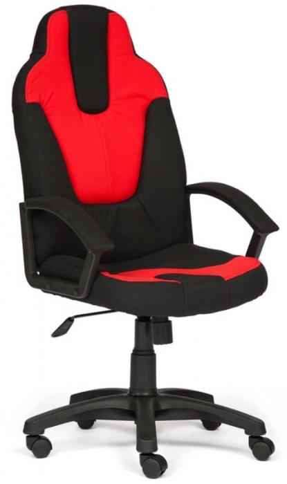 Кресло руководителя NEO3 Нео-3 ткань черный, красный