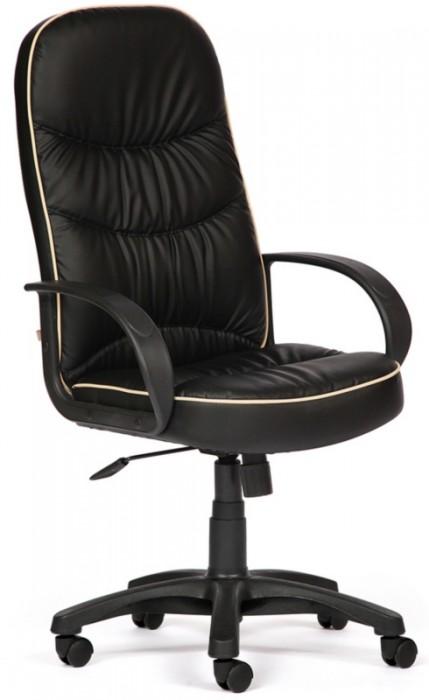Кресло руководителя POLO Поло экокожа черная