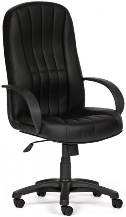 Кресло руководителя CH767 экокожа черный