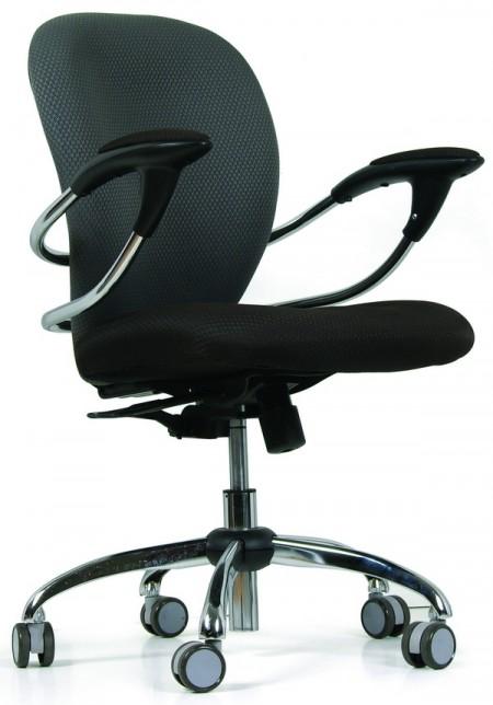 Кресло офисное CHAIRMAN 686 черно-серое