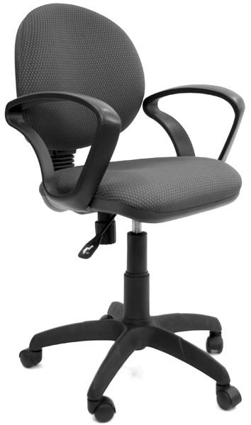 Кресло офисное CHAIRMAN 682 ткань JP-15-1 черно-серая