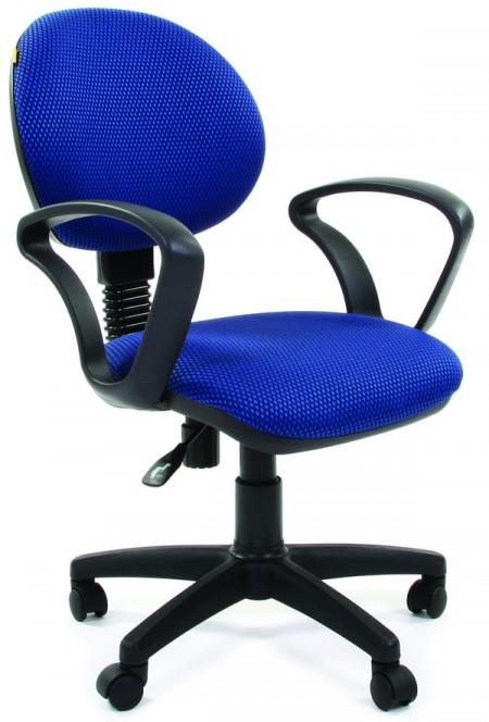 Кресло офисное CHAIRMAN 682 ткань JP-15-3 черно-голубая