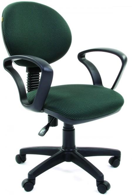 Кресло офисное CHAIRMAN 682 ткань JP-15-4 черно-зеленая