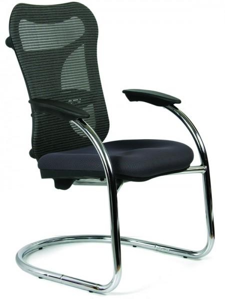 Кресло посетителя CHAIRMAN 426 ткань TW-11 черная