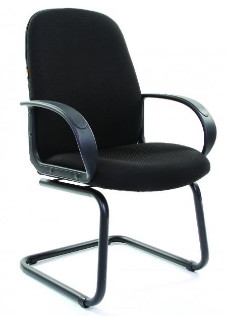 Кресло посетителя CHAIRMAN 279V ткань черная JP-15-2