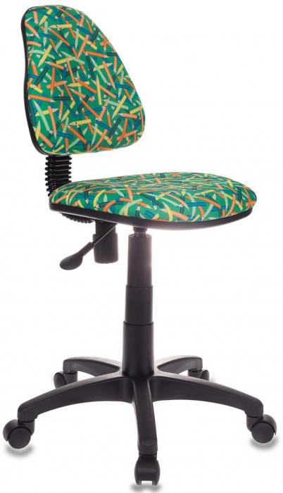 Кресло детское KD-4 зеленый карандаши