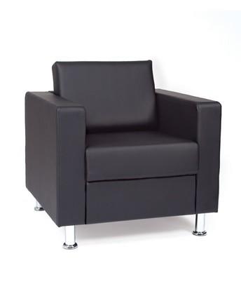 Кресло для отдыха Омега-Лайт искусственная кожа