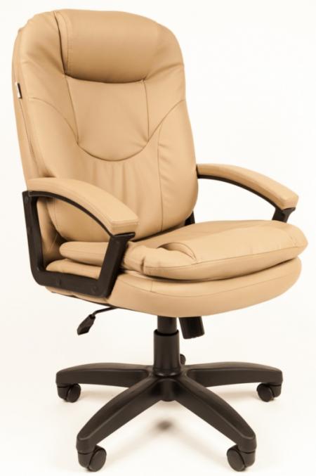 Кресло руководителя РК-168 экокожа бежевая