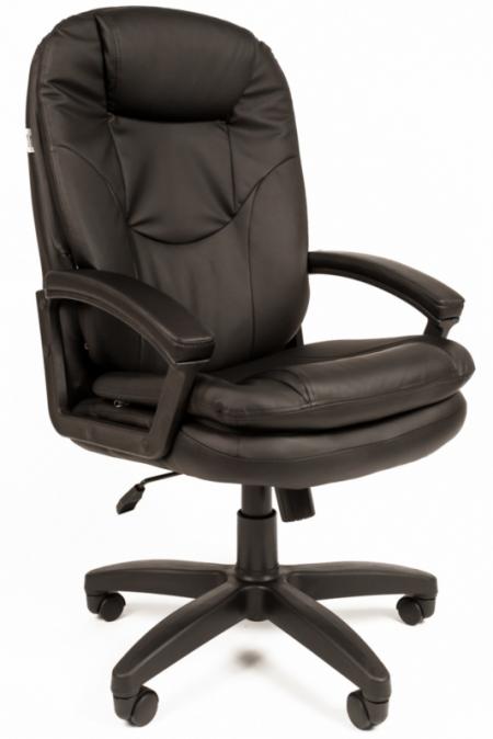 Кресло руководителя РК-168 экокожа черная