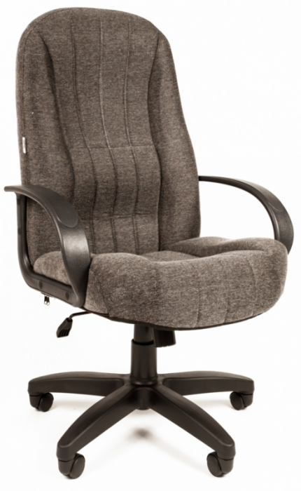Кресло руководителя РК-185 ткань серая