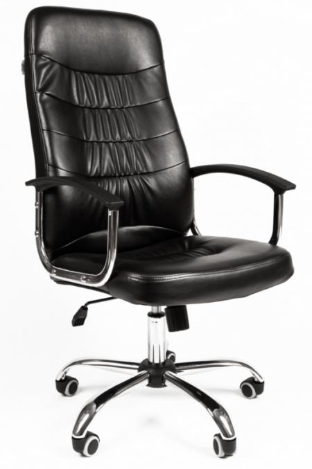 Кресло руководителя РК-200 экокожа черная