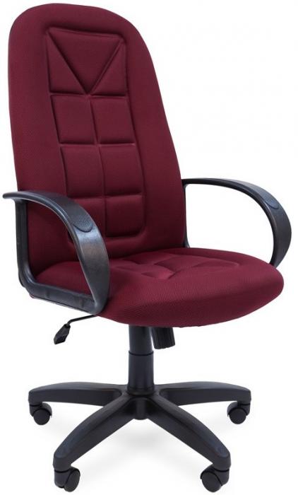 Кресло руководителя РК-127 ткань бордо TW-13