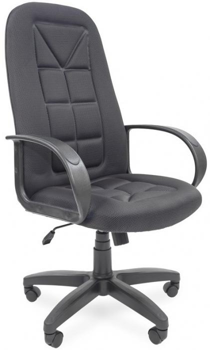 Кресло руководителя РК-127 ткань серая TW-12