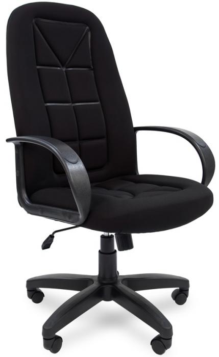 Кресло руководителя РК-127s ткань черная