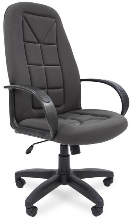 Кресло руководителя РК-127s ткань серая