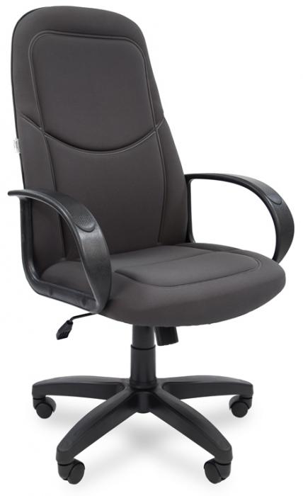 Кресло руководителя РК-137s ткань серая