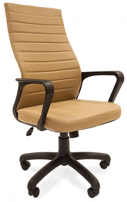 Кресло руководителя РК-165 экокожа бежевая
