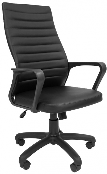 Кресло руководителя РК-165 экокожа черная