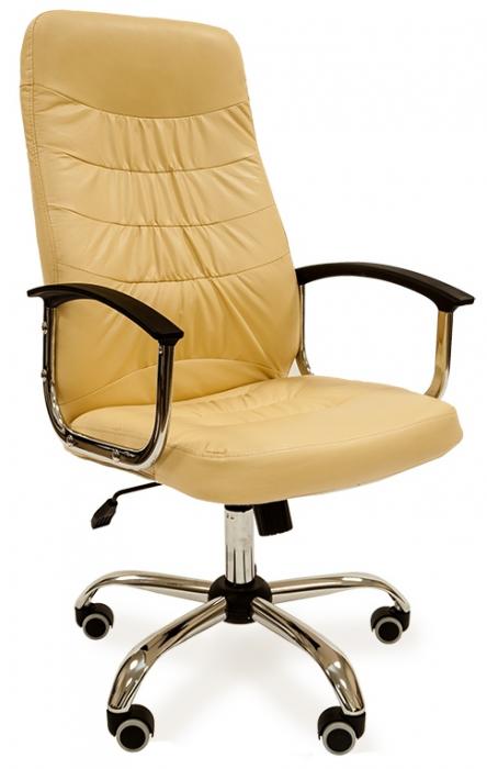 Кресло руководителя РК-200 экокожа бежевая